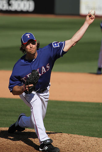 Neal Cotts - Cotts pitching for the Texas Rangers in 2012 spring training