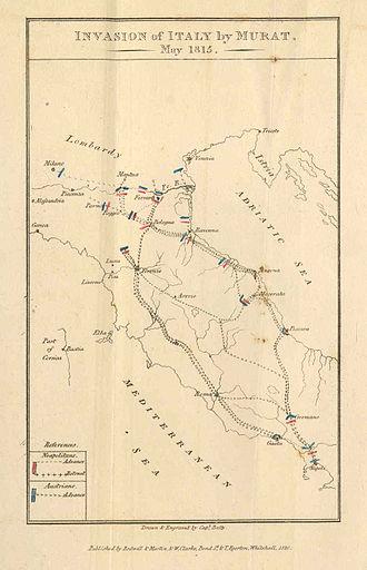 Neapolitan War - Image: Neapolitan War