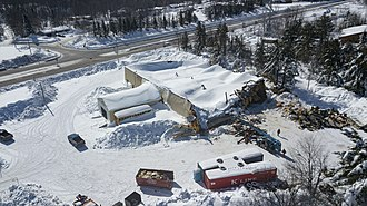 Structural integrity and failure - Building collapse due to snow weight