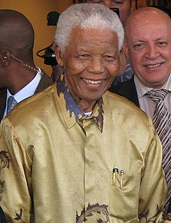 President of South Africa, anti-apartheid activist