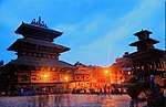 File:Nepal - Evening lights at Bhaktapur (3459574190).jpg