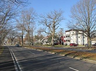 Readville, Boston - Neponset Valley Parkway