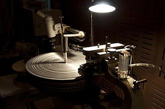LP record - Neumann lathe