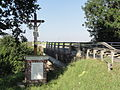 Neuville-Saint-Amand (Aisne) croix de chemin.JPG