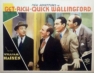 <i>New Adventures of Get Rich Quick Wallingford</i> 1931 film