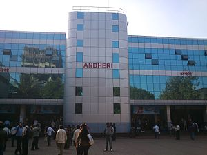 Western Railway zone - Newly built Andheri Station East Side