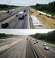 New Jersey Turnpike widening Robbinsville 2012-2014.JPG