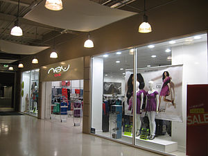 New Look (company) - Image: New Look store