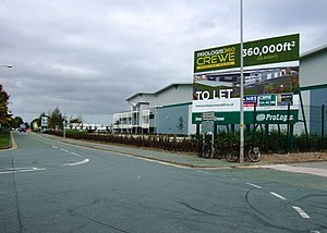 English: New development, Crewe Business Park