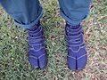 New steel-toed tabi boots, home, Burbank, California, USA (29855620640).jpg