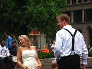 Newlywed - Newlywed couple, Chicago.