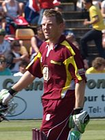 Niall O'Brien (cricketer) 2009.JPG