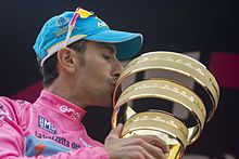 Vincenzo Nibali, winner of the 2016 Giro d'Italia