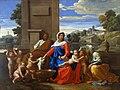 Nicolas Poussin - Sainte Famille (aux neuf figures).jpg