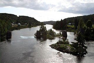 Nidelva (Aust-Agder) river in Aust-Agder and Telemark, Norway