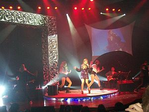 """Stay Alive (album) - Nina performing """"Staying Alive"""" on Update Your Status... at the Music Museum in February 2012."""