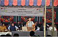 Nirmala Sitharaman addressing the gathering at the inauguration of the Custom Station at Zokhawthar, in Champhai District, Mizoram on March 25, 2015. The Chief Minister, Mizoram, Shri Lal Thanhawla is also seen.jpg