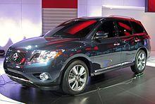 Nissan Pathfinder concept al NAIAS 2012