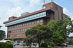 Nisshin City Hall exterior ac.jpg