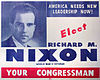 A 1946 Nixon campaign flyer