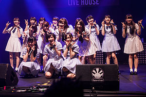 Nogizaka46 - (Nogizaka46 at Japan Expo 2014)