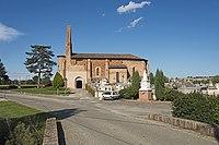 Nohic Eglise St Sernin et la place du Souvenir.jpg