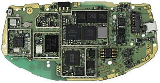 N-Gage (device) - The motherboard of the N-Gage
