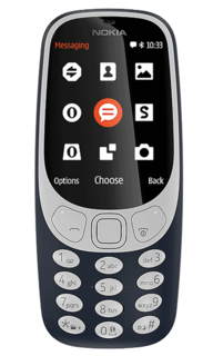 Nokia 3310 (2017) 2017 Nokia-branded mobile phone