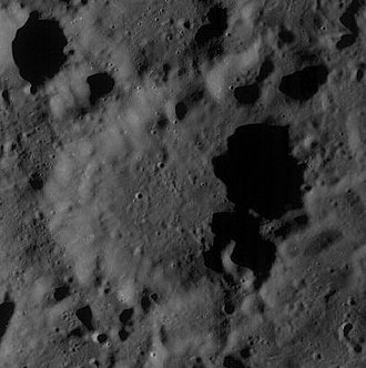 Van Rhijn (crater) - Image: Normal vanrhijn