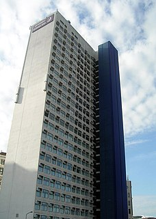 North Tower (Salford) highrise building in Salford, England