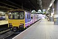 Northern Rail Class 150, 150112, platform 3b, Manchester Victoria railway station (geograph 4512924).jpg