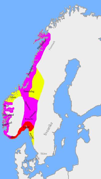 Sweyn Forkbeard - Image: Norway 1000 AD