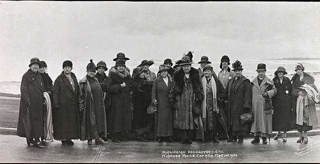 Norwegian delegates, I. C. W., Niagara Falls, Canada, May 1st. 1925 (8451964101).jpg