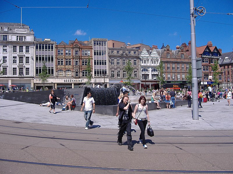 File:Nottingham MMB 17 Market Square.jpg