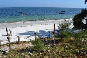 Nyali Beach from the Reef Hotel during high tide in Mombasa, Kenya 22.jpg