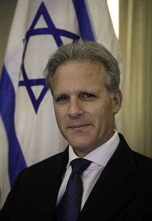 Official photo of Ambassador of Israel Michael...