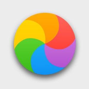 Spinning pinwheel - Spinning Wait Cursor as seen in OS X El Capitan