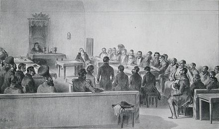 The Legislative Assembly of Wallachia in 1837 Obsteasca Adunare, 1837.jpg