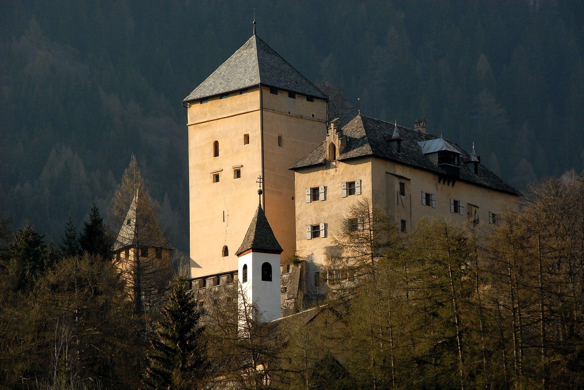 Px Obervellach Burg Groppenstein