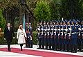 Official welcoming ceremony was held for Croatian President Kolinda Grabar-Kitarovic 10.jpg