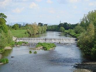 Olza (river) - Image: Olše v Karviné
