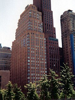 21 West Street Residential skyscraper in Manhattan, New York