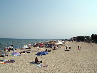 Olympiaki Akti - The Beach of Olympiaki Akti