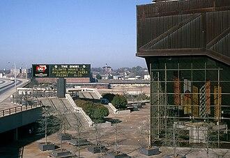 Omni Coliseum - Image: Omni Coliseum 1977