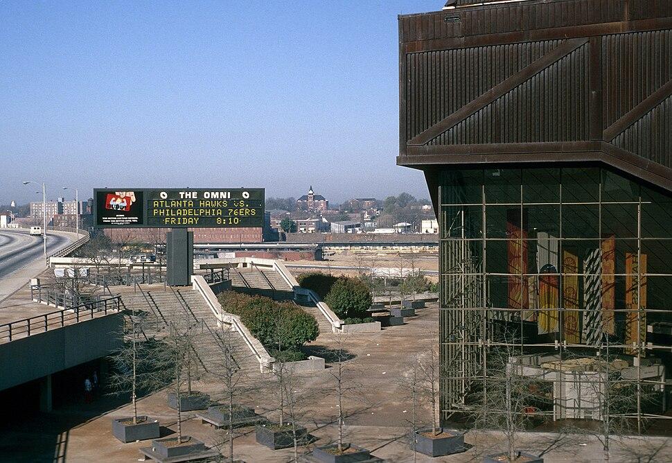 Omni Coliseum 1977