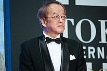 "Omori Kazuki ""International Competition Jury"" at Opening Ceremony of the 28th Tokyo International Film Festival (22265415358).jpg"