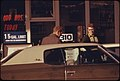 On January 31, 1974, an Odd-Numbered Day, Motorists with Odd-Numbered License Plates Could Obtain Gasoline at This Station the Limit Was 15 Gallons 01-1974 (4272523546).jpg