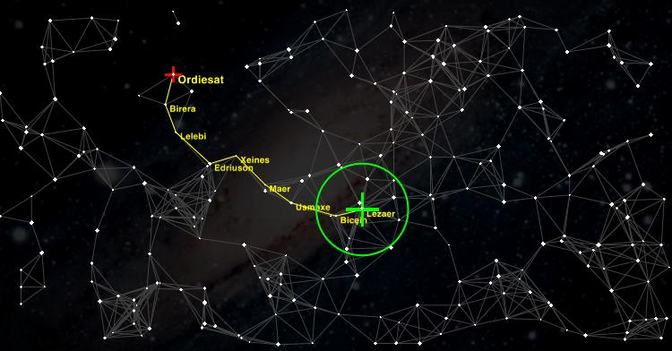 Oolite galactic map