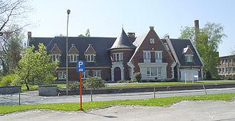 Opwijk - The town hall of Opwijk, building 2