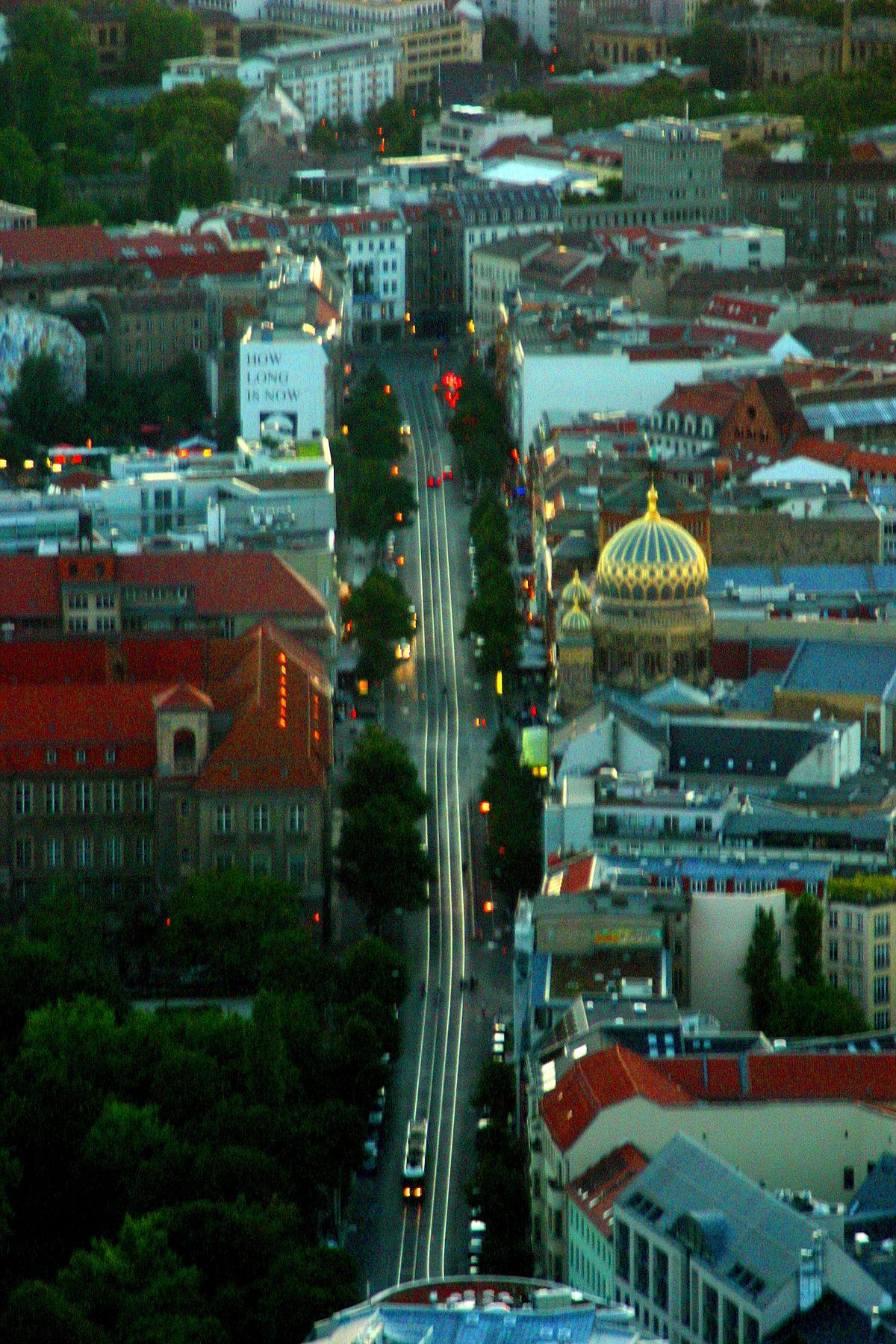 Berlin oranienburger prostitution strasse Red Light